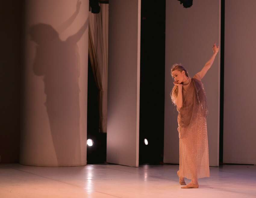 Sara Mearns as Chloe in Christopher Williams' developing