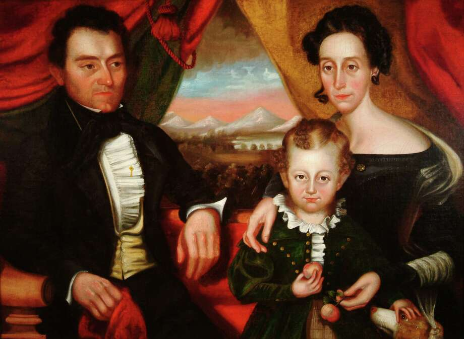 American School, Members of the Cooper Family, c. 1835. Oil on canvas. Photo courtesy the Arkell