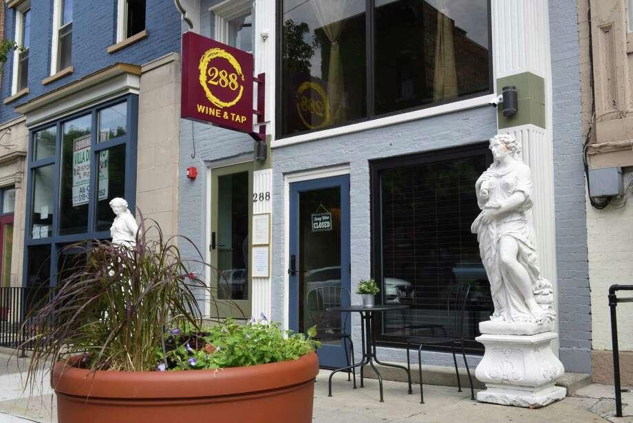Exterior of 288 Wine & Tap on Wednesday, July 31, 2019 in Albany, N.Y. (Lori Van Buren/Times Union) Photo: Lori Van Buren / 40047565A