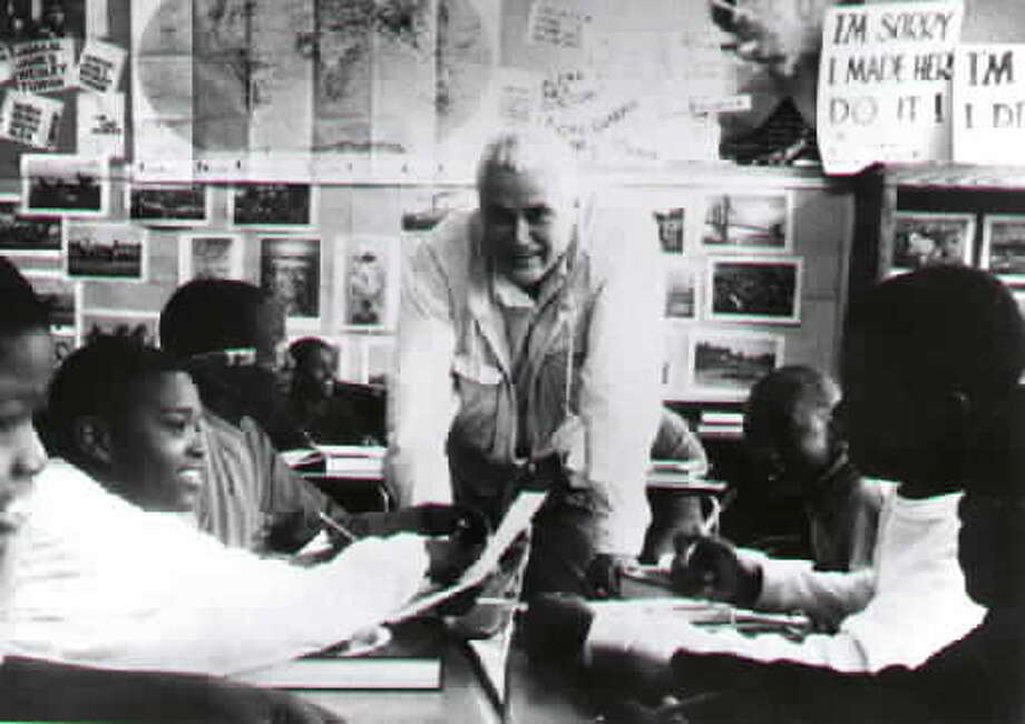 John Taylor Gatto in his classroom the year he was named New York's Teacher of the Year. (Times Union archive.) Photo: (Times Union Archive)
