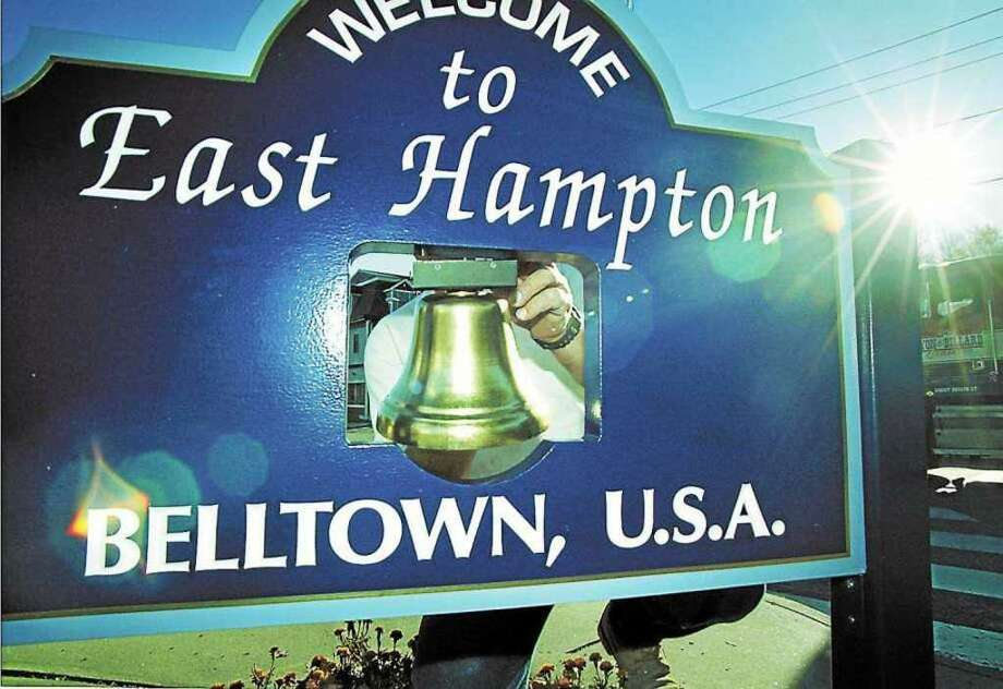 East Hampton town sign Photo: File Photo