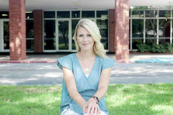 """""""I always knew I wanted to be a principal,"""" said Whitney Rich, Deer Park Elementary School's new top administrator. """"As a principal, your zone of influence increases, not only with the kids but also with staff members.""""   ."""