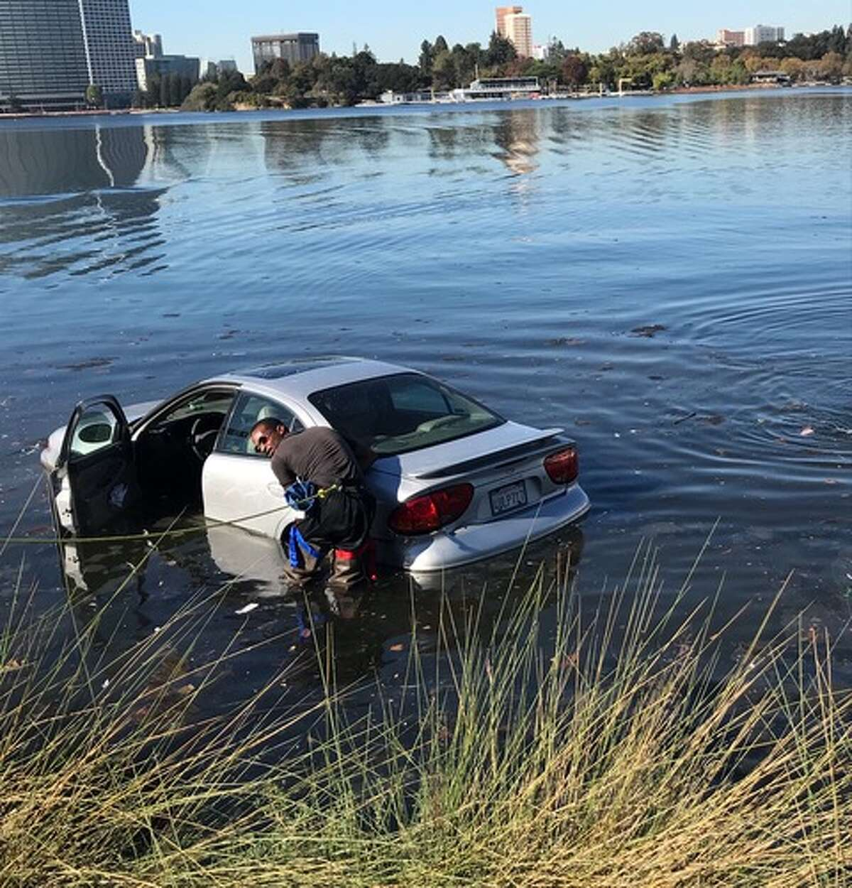 Plenty of unusual items have made its way to Lake Merritt, thanks to careless folks who have illegally dumped their trash into the water. The Lake Merritt Institute takes on the thousands of pounds of trash that lands in the lake and disposes of it properly.