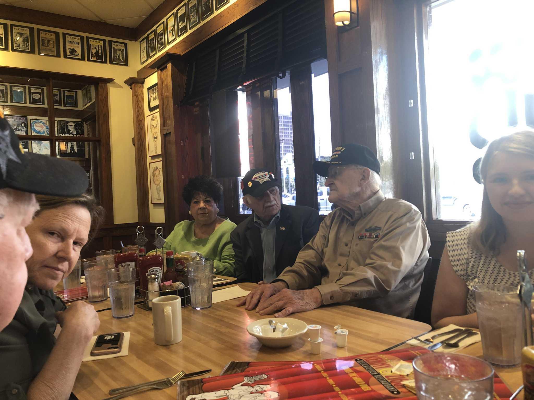 Holocaust survivors, liberators share stories at Kenny & Ziggy's