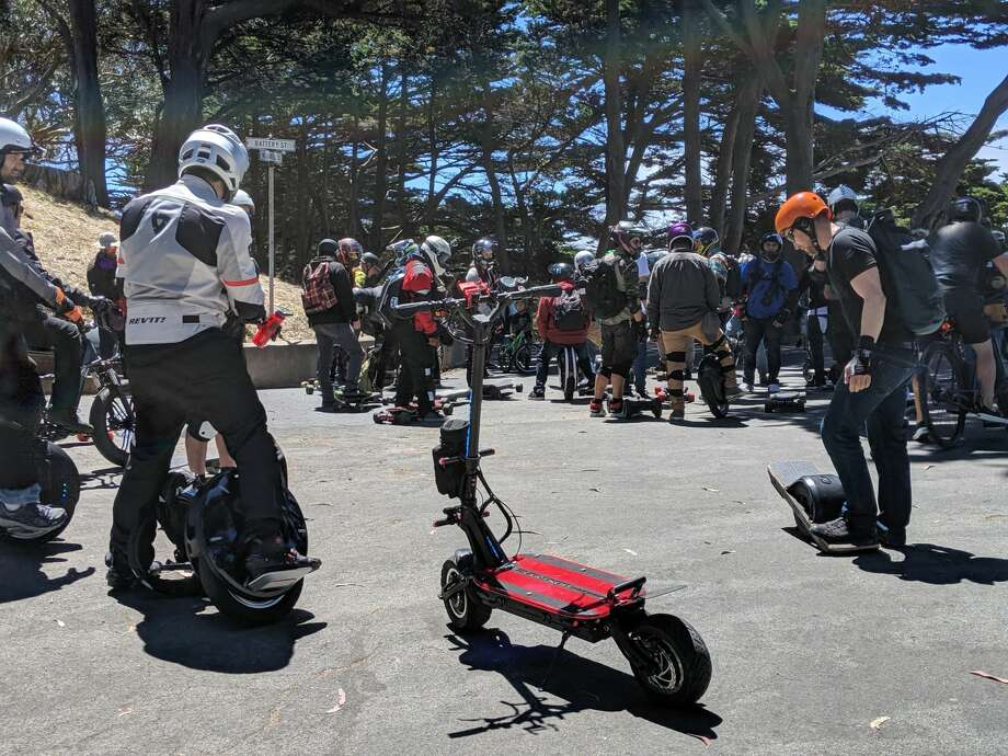 The squad takes a break in Golden Gate Park on August 3, 2019 in San Francisco. Photo: Dan Gentile