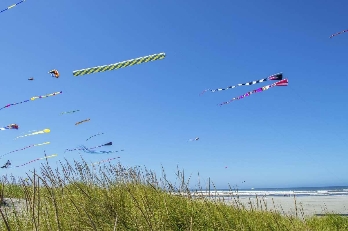 International Kite Festival at Long Beach, Washington.