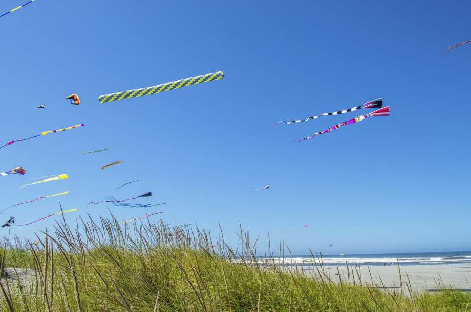 International Kite Festival at Long Beach, Washington. Photo: Omegaforest/Getty Images/iStockphoto