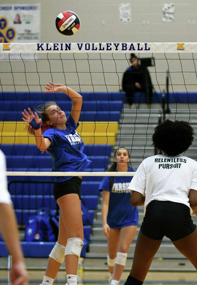 Klein junior setter made the Texas Association of Volleyball Coaches 2019 Large School Preseason Watchlist. Photo: Jerry Baker, Houston Chronicle / Contributor / Houston Chronicle