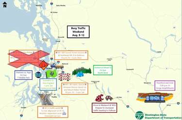 Road closures, events, weather: Drivers should prepare for delays