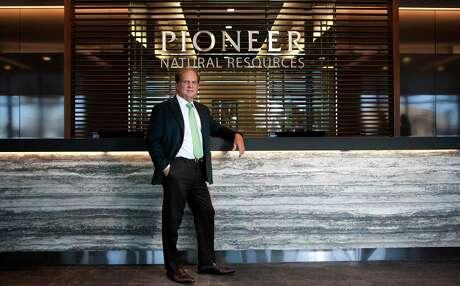 Scott Sheffield, CEO of Pioneer Natural Resources, in portrait Wednesday, Feb. 18, 2015 at the Pioneer building on N. Big Spring in Midland. James Durbin/Reporter-Telegram