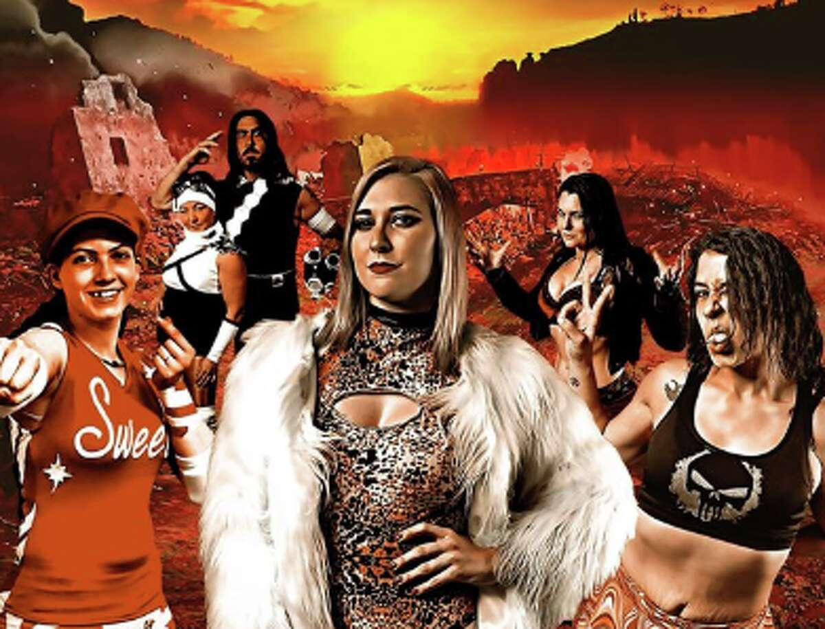 Guilty Lethal Action Mayhem - GLAM - is an Oakland-based women's pro wrestling league, and a subset of Hoodslam.