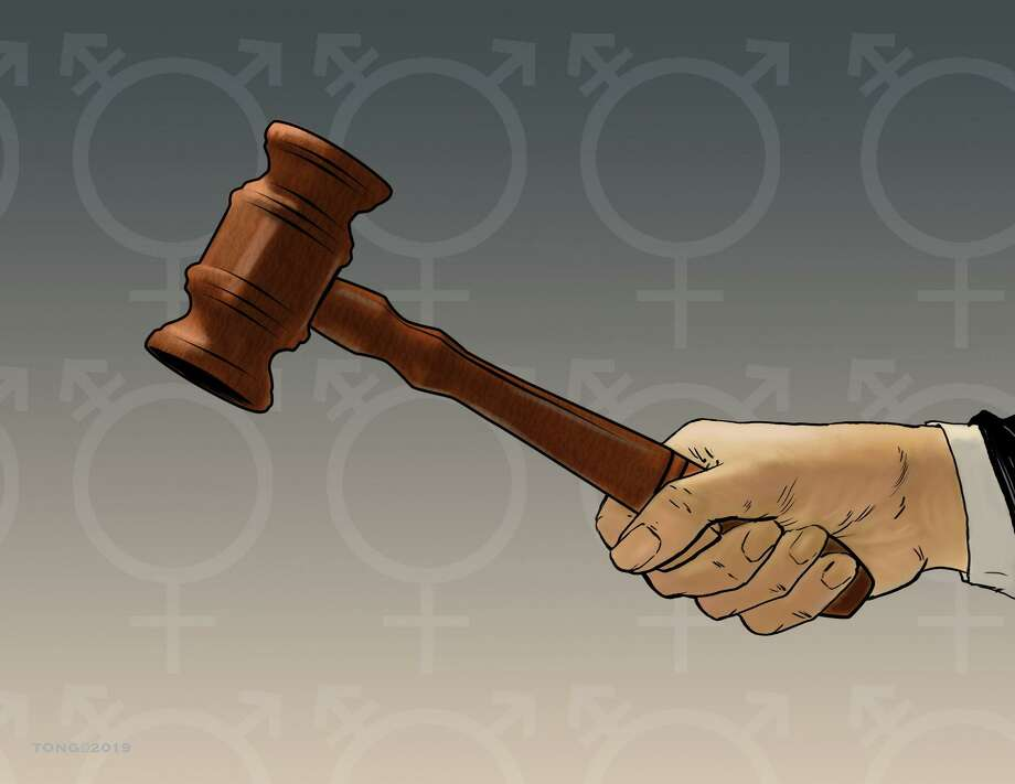 Paul Tong cartoon on transgender rights. Photo: Paul Tong / Paul Tong