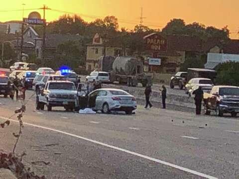 Two men shot dead on East Freeway identified as Louisiana