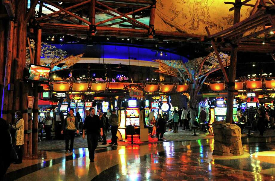 Interior views of Mohegan Sun Casino in Uncasville, Conn., in 2017. Photo: Christian Abraham / Hearst Connecticut Media / Connecticut Post