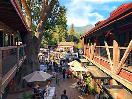 More than 25 local artists and their wares, live music and a special bearded  (and chubby) guest in a familiar red suit will come together for a festive day  at the Mill Valley Lumber Yard, Marin County's latest rustic retail darling. The  shopping event is an ideal place to stock up on handcrafted ceramics, jewelry,  glassware, soaps, candles clothing and more. 10 a.m.-5 p.m. Saturday, Dec. 8. 129 Miller Ave, Mill Valley, www.millvalleylumberyard.com.