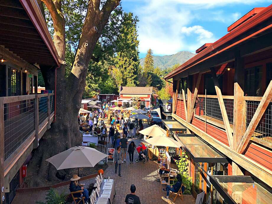 Some homeowners fear the restrictions will take away Mill Valley's rustic character. Photo: Mill Valley Lumber Yard