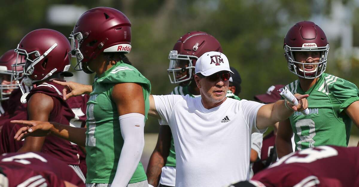 Aggies coach Jimbo Fisher is known as a stickler for getting practice reps 100 percent right.