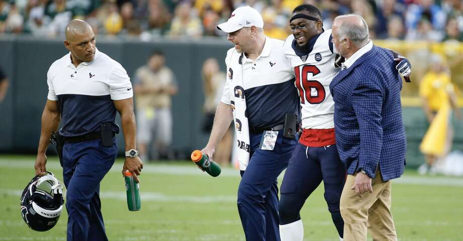 Keke Coutee has not played in a game since he was hurt during the Texans' preseason opener at Green Bay in early August. Photo: Brett Coomer/Staff Photographer