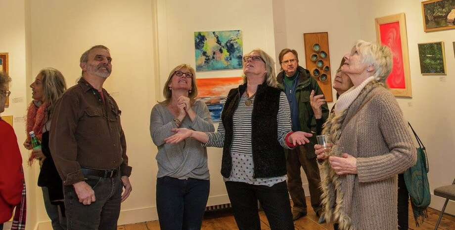 Ridgefield Guild of Artists will host its eighth annual Bedlam! exhibit this month. Photo: Mary Pat Devine / Contributed Photo / Copyright 2015  Mary Harold
