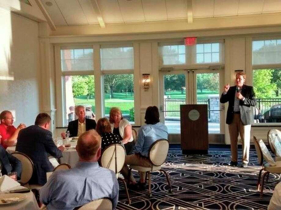 Senator Aric Nesbitt addresseslegislators at this week's event. (Photo provided)