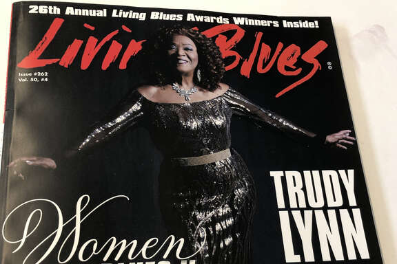 Living Blues cover of Trudy Lynn, August 2019