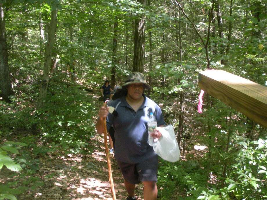 The Northwest Connecticut YMCA Torrington Trails Network has been working to connect the Sue Grossman Trail to the Naugatuck River Trail . Photo: Contributed