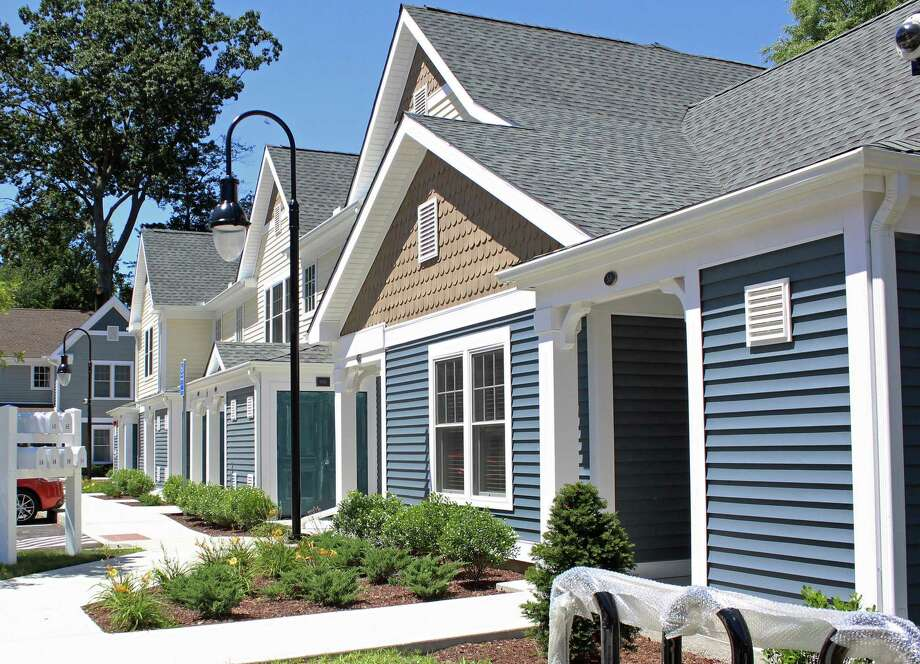 Affordable housing at the Pine Tree complex in Fairfield. Photo: File Photo / Fairfield Citizen