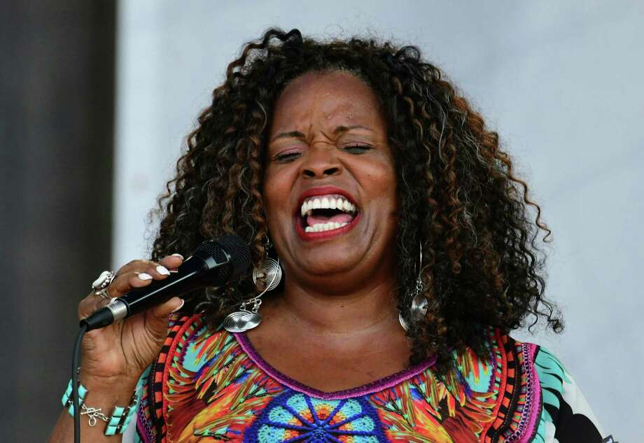 Five-time Grammy winner Dianne Reeves will headline this year's Jazz'SAlive festival in Travis Park. Photo: Eva Hambach /AFP / Getty Images / AFP or licensors