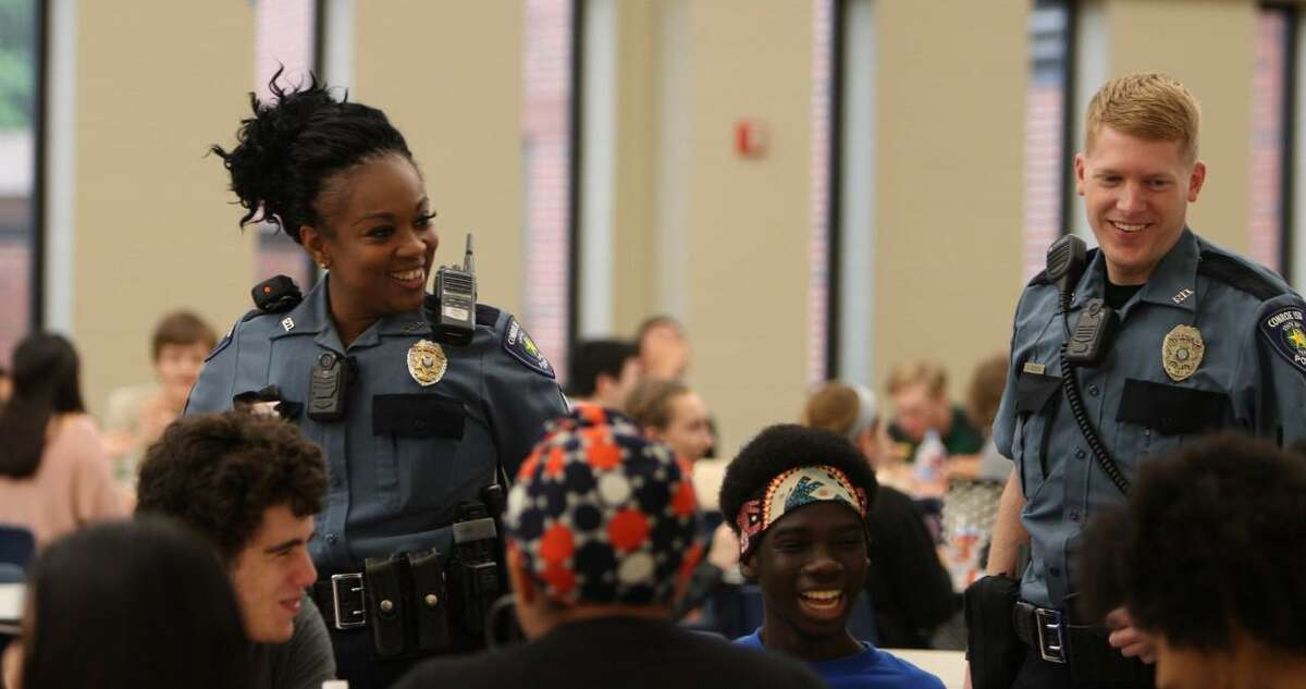 When more than 64,000 students at 64 campuses within the Conroe Independent School District for the 2019-20 school year, the district's police department said everyone is needed to keep the kids safe.