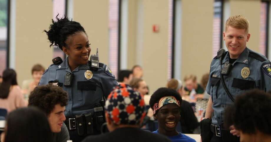 When more than 64,000 students at 64 campuses within the Conroe Independent School District for the 2019-20 school year, the district's police department said everyone is needed to keep the kids safe. Photo: Submitted Photo / Conroe ISD