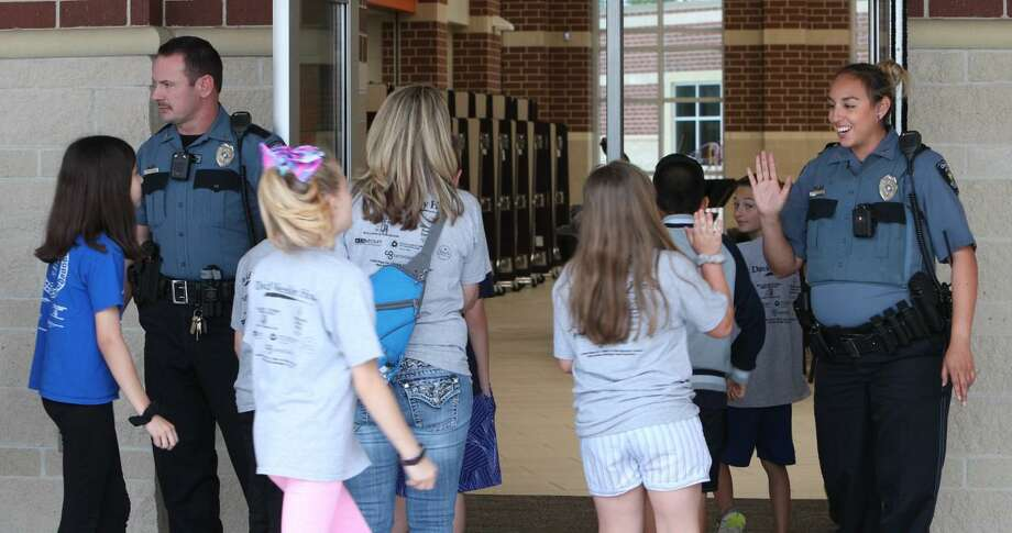 With more than 64,000 students on 64 campuses within the Conroe Independent School District, officials have prepared, time and time again, for the possibility of an active shooter scenario. In the wake of the recent shootings in Midland and Odessa, officials have again been reviewing plans. Photo: Submitted Photo / Conroe ISD