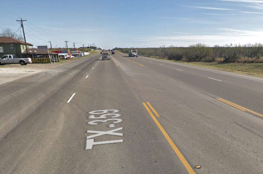 A four-vehicle crash has been reported in the 6900 block of Texas 359 Photo: Google Maps/Street View