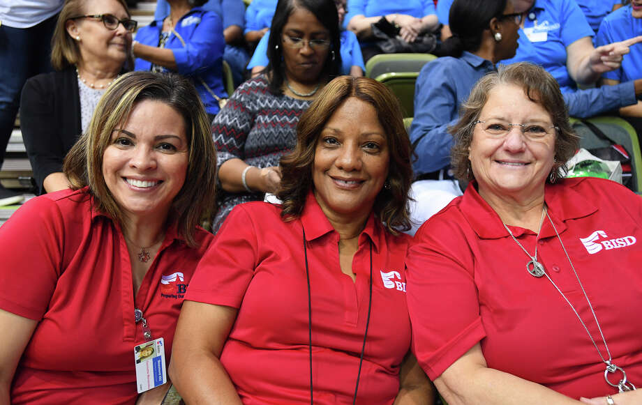 BISD teachers and staff prepare for the new school year during Convocation on Friday. Photo taken Friday, 8/9/19 Photo: Guiseppe Barranco/The Enterprise / Guiseppe Barranco ?