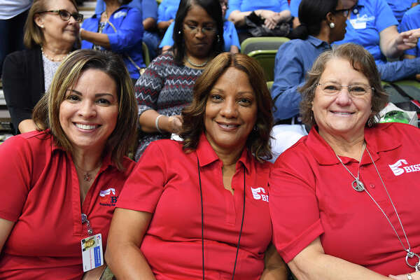 BISD teachers and staff prepare for the new school year during Convocation on Friday. Photo taken Friday, 8/9/19
