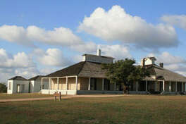 The Fort McKavett hospital is now the historic-site visitor center.