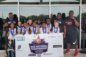 Lake Houston 10u Knights won the 2019 Alodia Premier Basketball National Championship in the fourth-grade division in Houston on July 21.