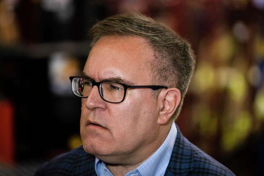 Environmental Protection Agency Administrator Andrew Wheeler proposed a regulation aimed a speeding decisions on pipelines. Photo: Matt Rourke, STF / Associated Press / Copyright 2019 The Associated Press. All rights reserved.