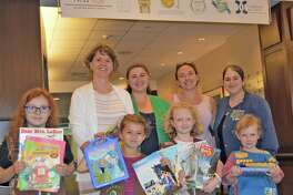 Brownie and Daisy Scouts from Girl Scout Troops 38392 and 38325 recently donated children's books, magazine and toys to Griffin Hospital's Emergency Department.