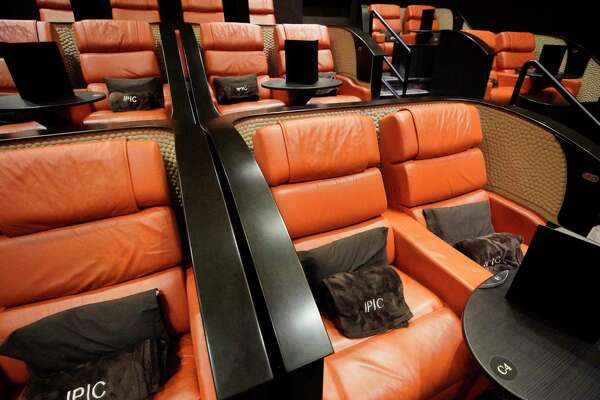 IPIC Houston, 4444 Westheimer Rd., in River Oaks District featuring pod seats with a pillow and blanket is shown Thursday, June 27, 2019, in Houston.
