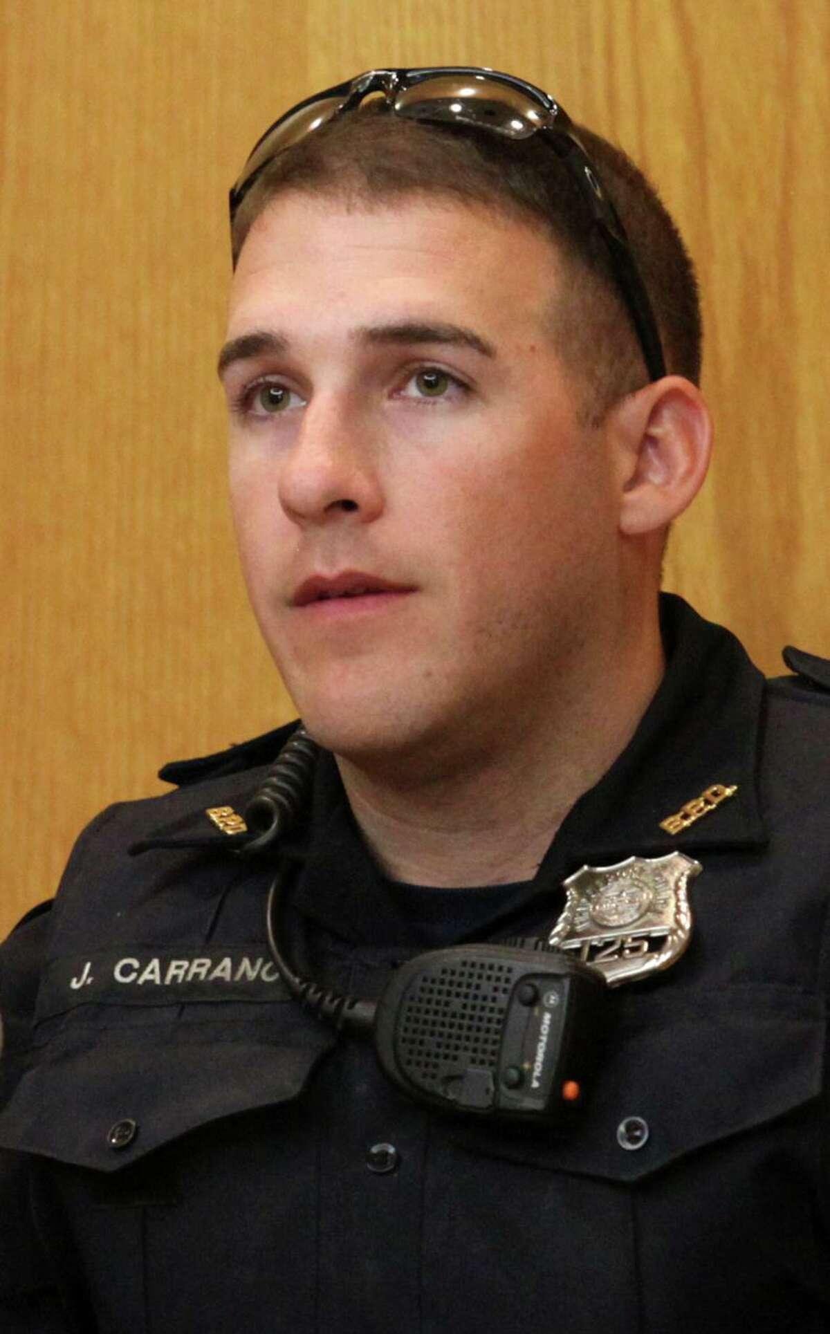 Former Bridgeport police officer John Carrano