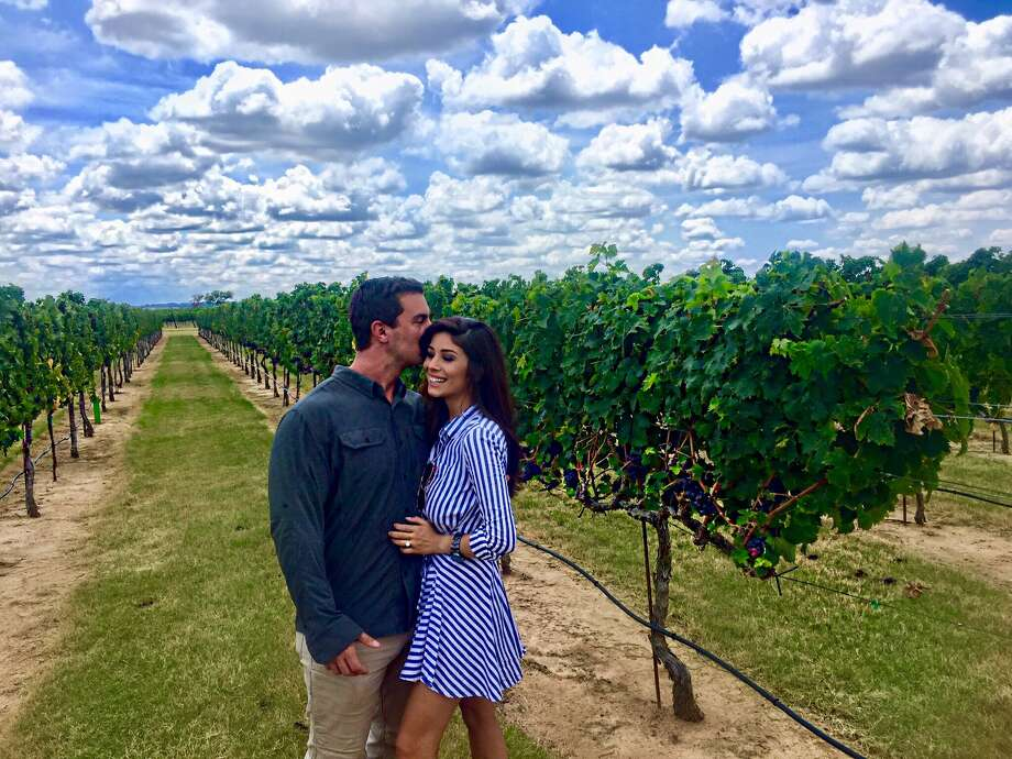 KENS 5 traffic anchor Niku Kazori got engaged in Federicksburg on August 6. Photo: Niku Kazori