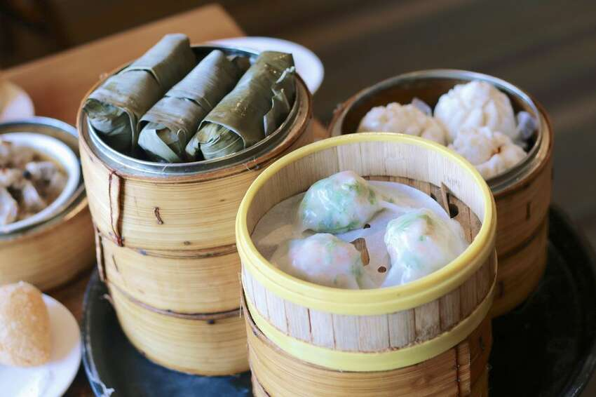 Top Gun Seafood: This bounty of shrimp on sugar cane and baked hum baos based in Bellevue is piping out carts crammed with locally popular dim sum. It's lively and bustling with steamed buns throughout lunch time, so we suggest arriving before 11:30 to beat the hangry crowds.