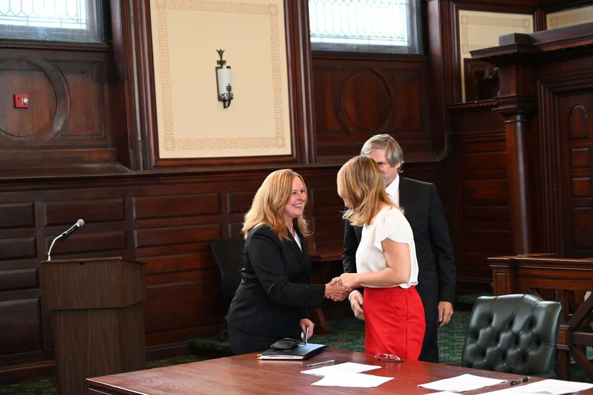 Linda Blom Johnson, left, is nominated by Republicans for state Supreme Court.