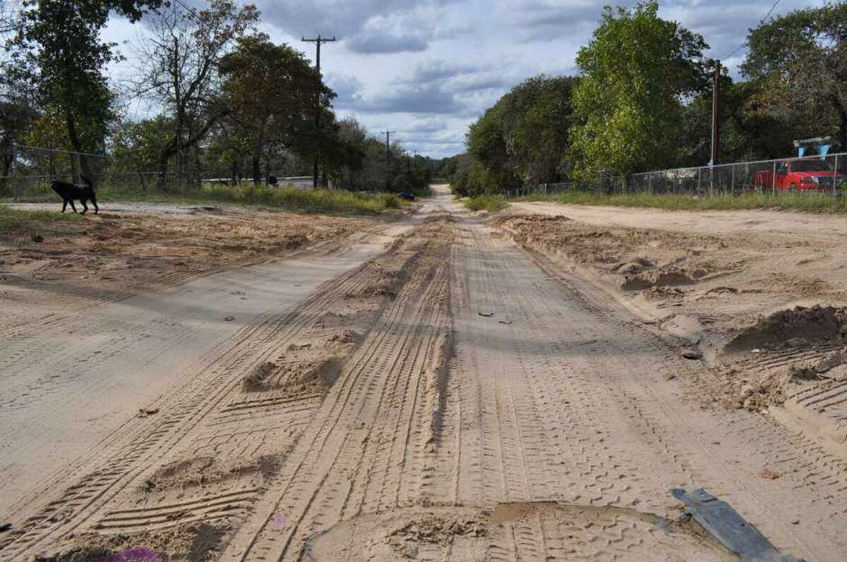 The roads in Highland Oaks became so bad school buses stopped driving on them. That will change now that road construction has finally started for the South Side neighborhood.
