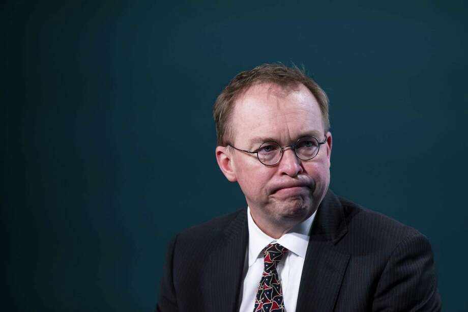 Mick Mulvaney, acting White House chief of staff, recently celebrated the draining of the swamp in D.C. But it's hard to view scientists and subject experts who are leaving the administration as swamp creatures. Photo: Alex Edelman /Bloomberg / © 2019 Bloomberg Finance LP
