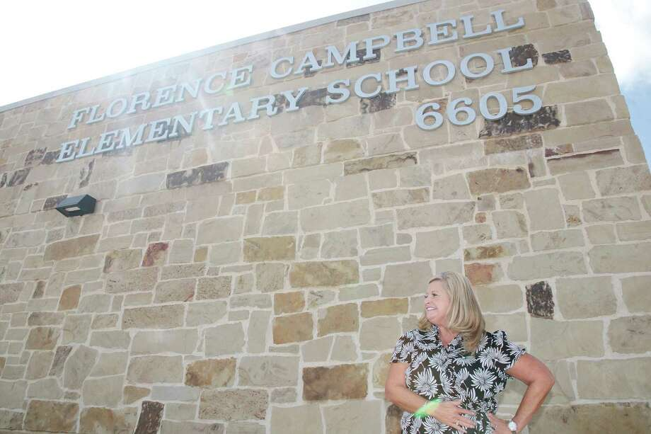 Clear Creek ISD's new Campbell Elementary School will be led by Principal Erin Tite. Photo: Pin Lim, Freelance / For The Chronicle / Copyright Forest Photography, 2019.