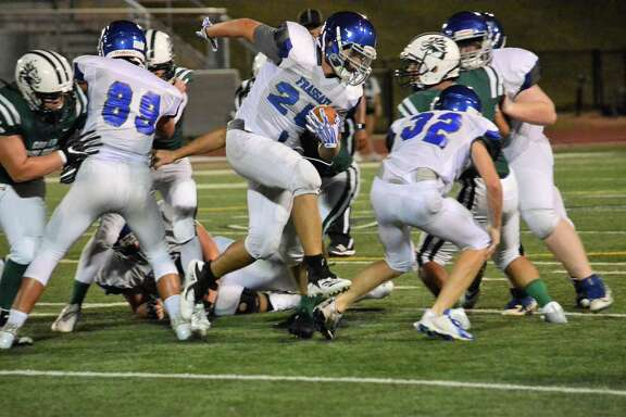 2017 was the first year the Frassati Catholic High School football program had students in all four grades under head coach Calvin LaFiton. The Falcons began varsity competition last year.