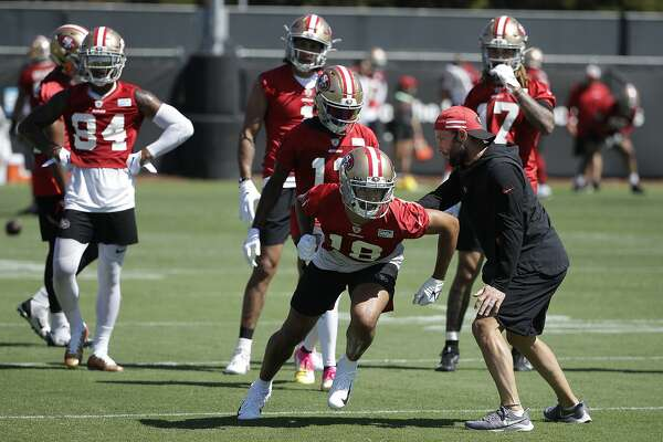 49ers receiver coaches Welker, Austin teach as they learn