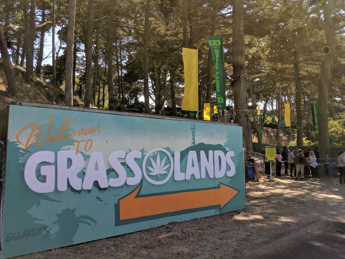Grass Lands at Outside Lands music festival in San Francisco on August, 9, 2019.