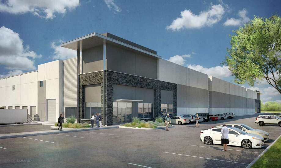 Parc Air 59 Building I at 18870 Eastex Freeway in Humble contains 160,000 square feet. A producer of petroleum-based specialty products will occupy 120,000 square feet in Building 1, according to developer Jackson-Shaw. Photo: Jackson-Shaw